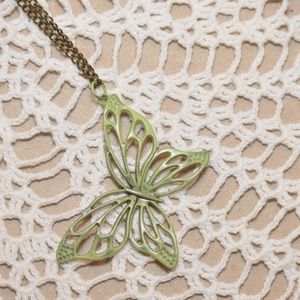 NEW Butterfly Pendant Necklace
